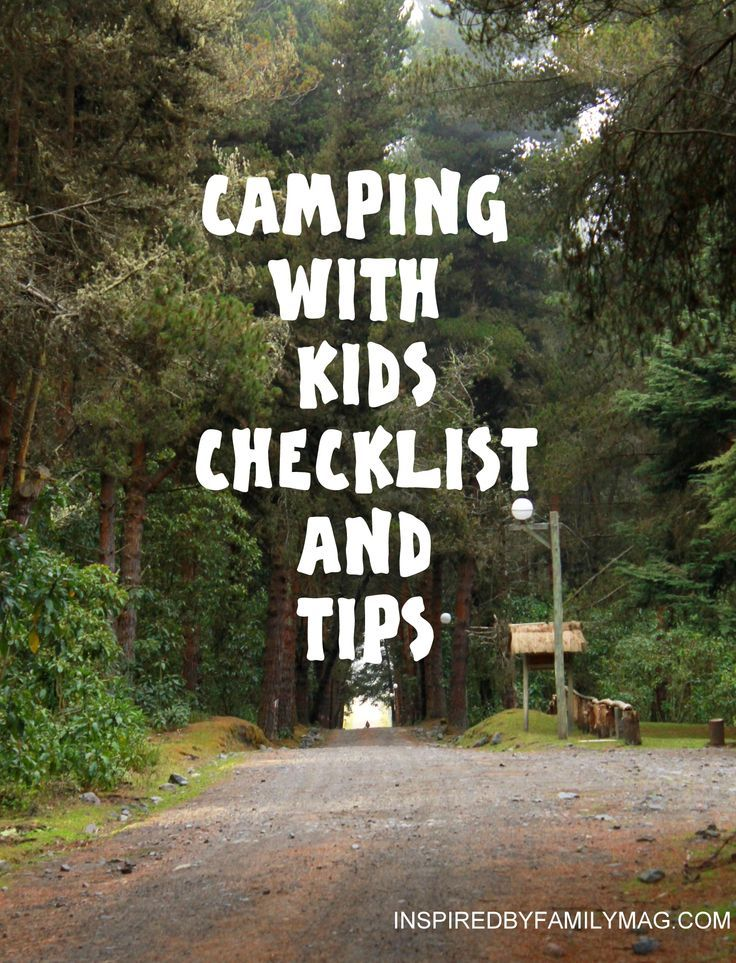 camping with kids...great lists for the   whole family (babies, toddlers, adults, etc.) Things I would have never thought   to bring but are so great to have.
