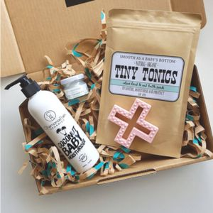 The Natural Gift Box Co - Create your own gift boxor choose from our selected range of Baby Shower, New Arrival, Pregnancy, and New Mum boxes