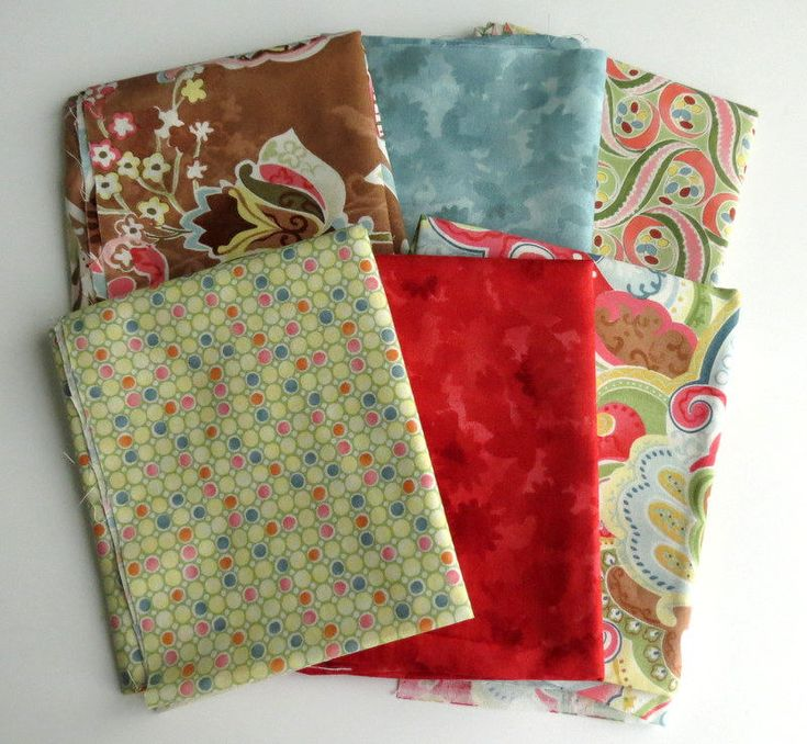 Moda Posh, fat quarter bundle, fabric destash, out of print fabric, quilting cotton, designer fabric, sewing supplies, fabric bundle, OOP