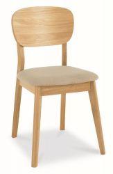 Oslo Oak Veneered Back Chair Stone Fabric http://solidwoodfurniture.co/product-details-oak-furnitures-3973--oslo-oak-veneered-back-chair-stone-fabric.html