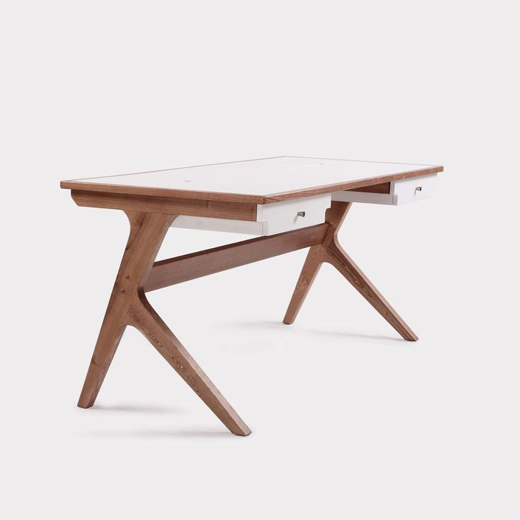 Marken Desk Home Desk furniture by Claudio Sibille - Mid-century meets modern