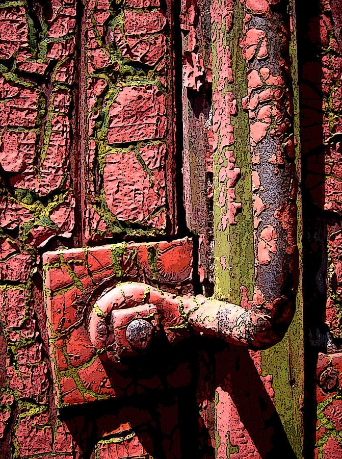 "Rust | さび | Rouille | ржавчина | Ruggine | Herrumbre | Chip | Decay | Metal | Corrosion | Tarnish | Texture | Colors | Contrast | Patina | Decay | ""Well Traveled"" Photograph  - Well Traveled Fine Art Print by David Yankle"