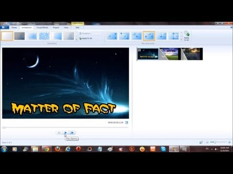 windows movie maker how to add facecam