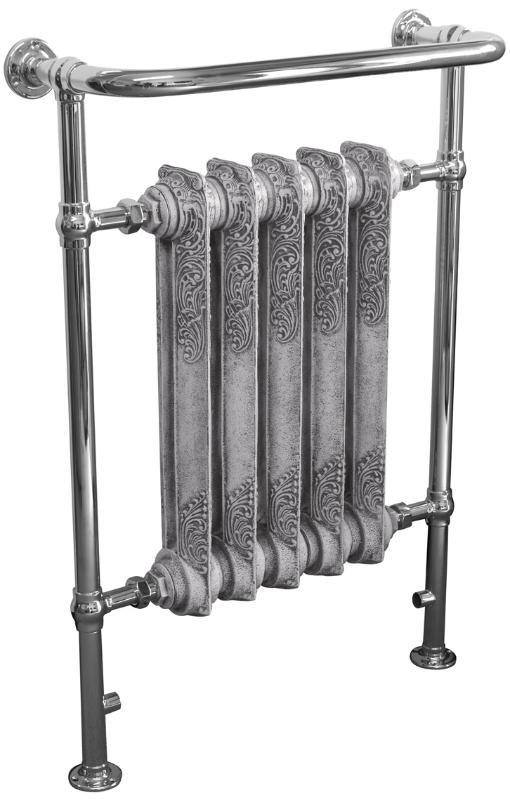 carron,Wilsford,Chrome,Towel Rail,towel,rail,bathroom,radiator,cast,iron,victorian,traditional,ukaa,uk,for sale,shop,online,buy,sell,yard,ar...