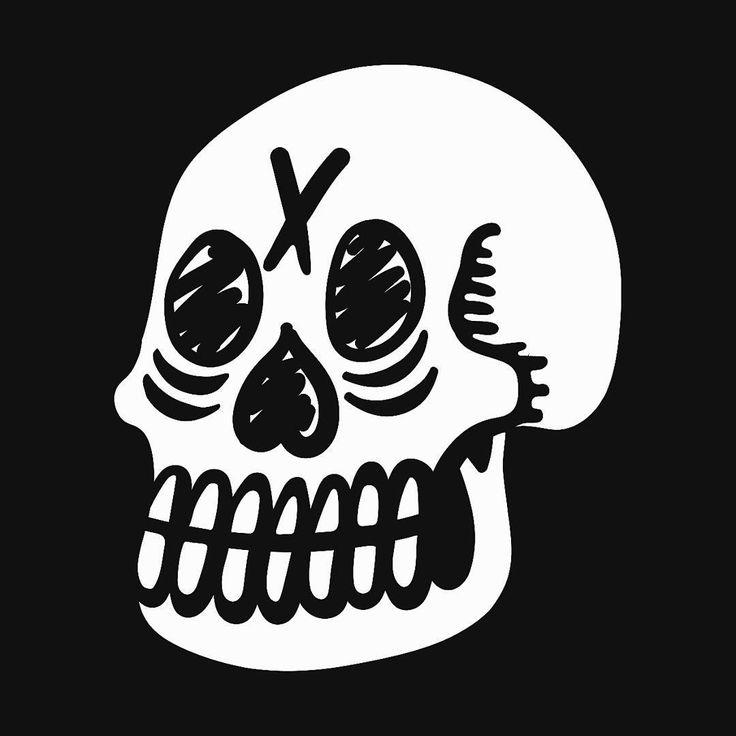 August 27, 2017. Welcome to the new path of my wild journey.  #illustration #skull #skullart #handdrawn #tattoinspired #rough #vintage #grunge #lettering #typography #skulls #scoundrel #chicago #illustrator #creative #artistsoninstagram #graphicdesign #digitalart #logo