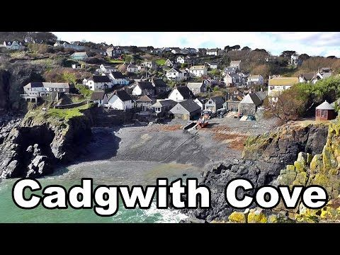 Cadgwith Cove in Cornwall England on A Perfect Day - YouTube