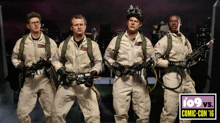 Blitzway has officially revealed its upcoming lineup of sixth-scale Ghostbusters figures based on the cast from the original film, and just like how the characters were trapped in that evil painting at the end of Ghostbusters 2, there's a good chance these actors have been somehow imprisoned in these impossibly accurate collectibles.