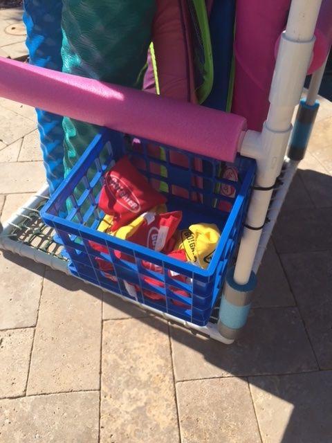 Diy Pool Toy Storage Average Joe