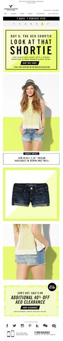 American Eagle email 2014