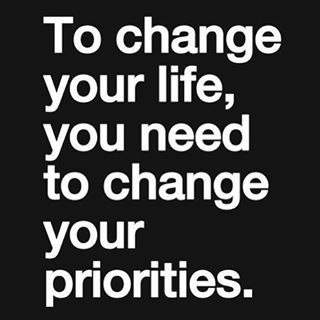 Be honest with yourself and ask, is my health truly a priority in my life? If not, it's never too late to make it one! #WednesdayWisdom