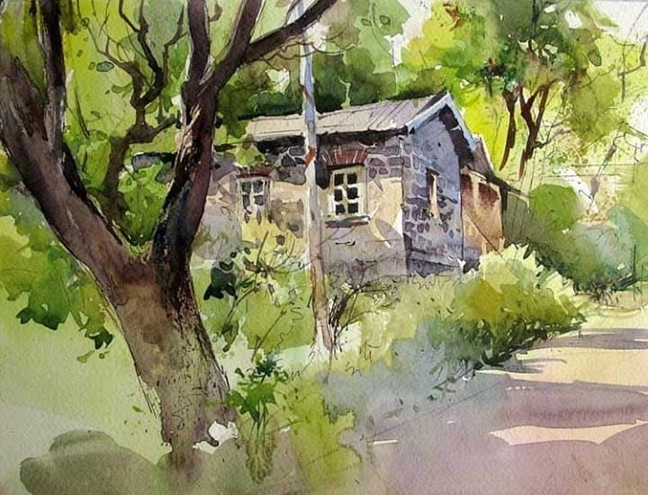 The Best Watercolor On Instagram Watercolor By Milind Mulick
