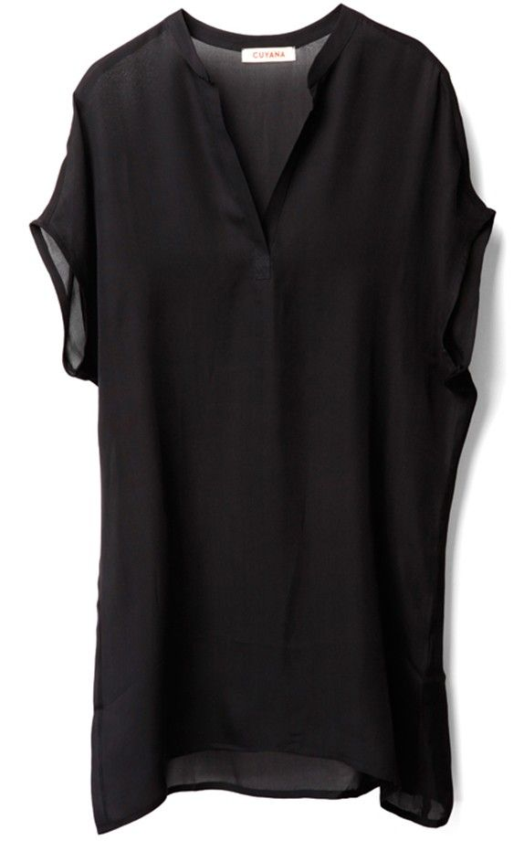 Apres Swim Coverup Black - Cuyana