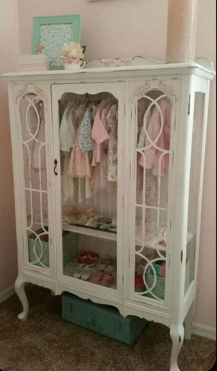 Bookcase turned into closet.  Pic posted in fb 08-08-2016.