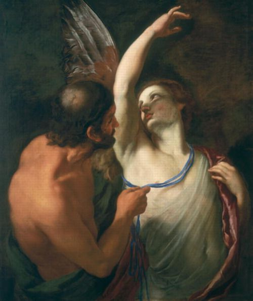 Daedelus and Icarus by Andrea Sacchi 1599 – 1661 Italian painter