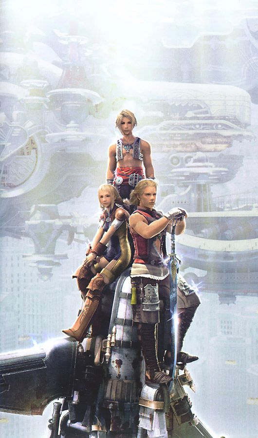 Final Fantasy XII Screen on http://www.majestichorn.com/2012/02/final-fantasy-xii-screen/