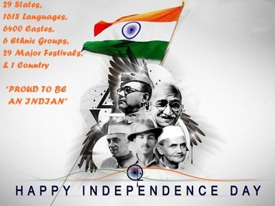 Wishing you a very Happy Independence day From Sendflowerstoindia VANDE MATRAM........................