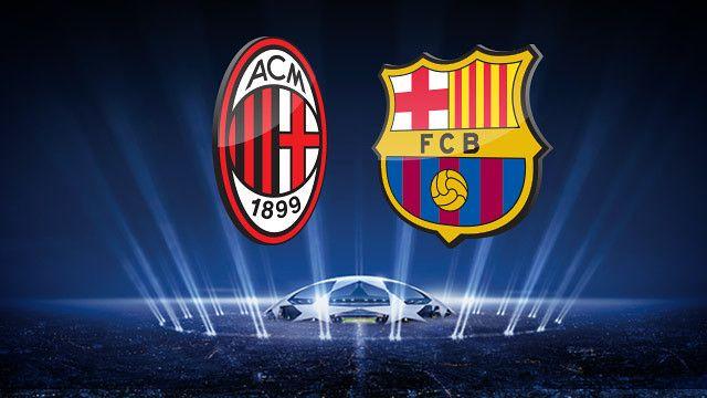AC Milan vs Fc Barcelona – UEFA Champions League En Vivo HD
