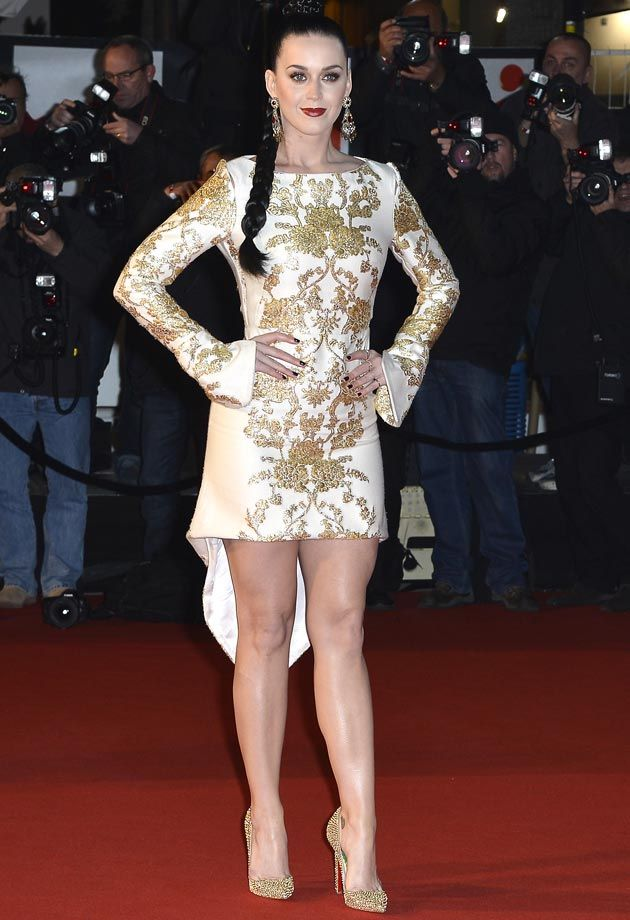 Katy Perry NRJ Awards 2013 Osman Dress. Best look!   maxinesoakai.com