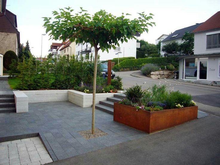 537 besten Garten Bilder auf Pinterest Verandas, Garten terrasse - terrassengestaltung mit wasserbecken