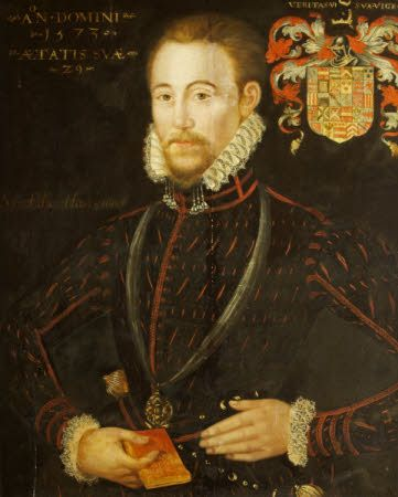 """Sir Edward Hastings"", 1573; Montacute House NT 597951"