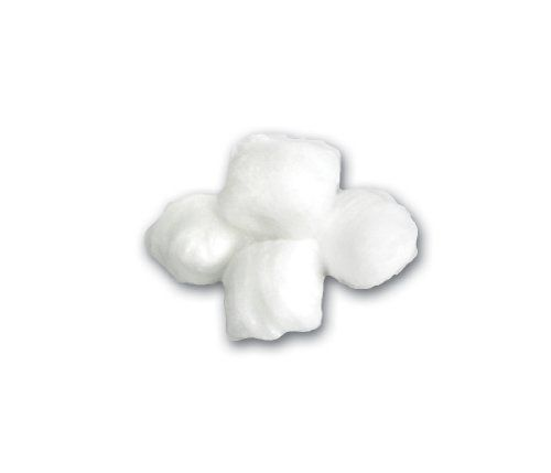 Cotton Ball, Large, Sterile, 5/pk by Medline. $11.64. Pure white cotton balls made from highly-absorbent 100% bleached cotton Soft, compact and uniform in size and weight Will not come apart when saturated. Save 52% Off!
