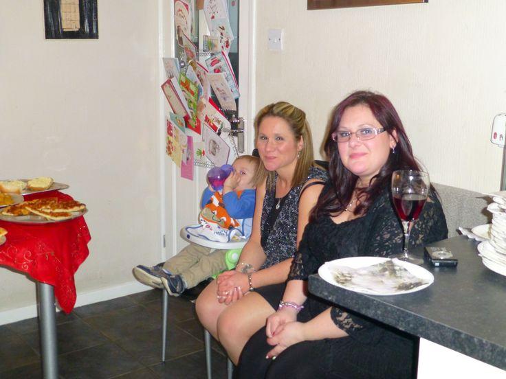 NYE 2014 at chez res Rudkin