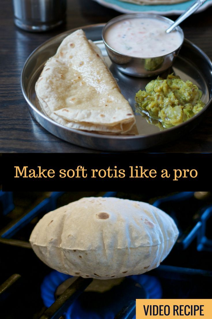 Are your rotis turning out like frisbees? Use this step by step video tutorial to make soft Rotis or Chapatis every time!