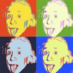Andy Warhol Pop Art | Impression Pop Art : Portrait & Photo sur Panneau & Canvas par DPI