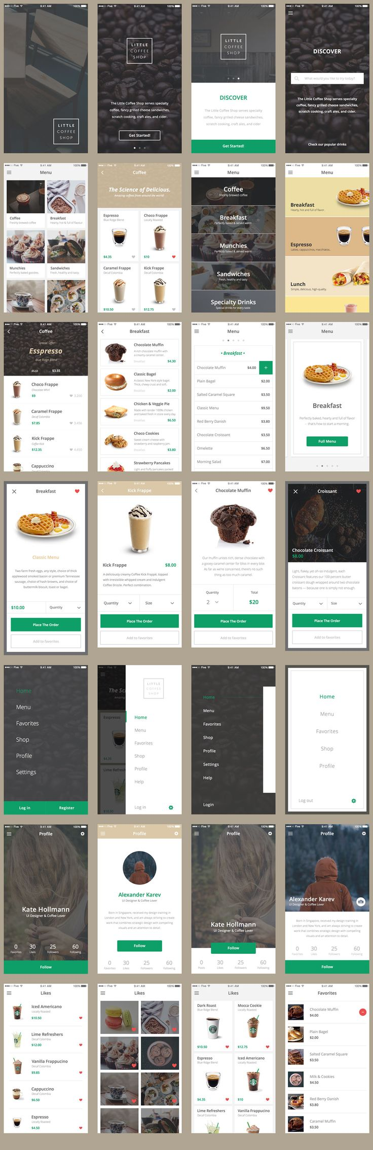 Ecommerce Mobile App UI Kit