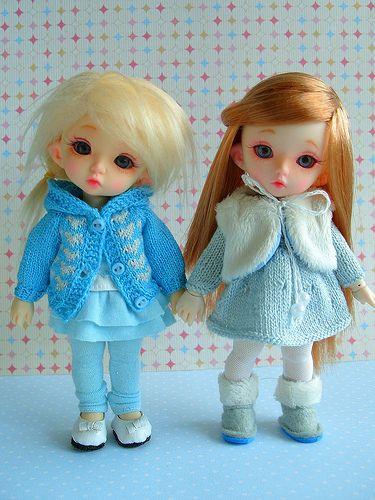 Новые наряды моих девочек. PukiFee Bonnie и PukiFee Luna от Fairyland / Одежда, обувь, аксессуары для шарнирных кукол БЖД, BJD / Бэйбики. Куклы фото. Одежда для кукол