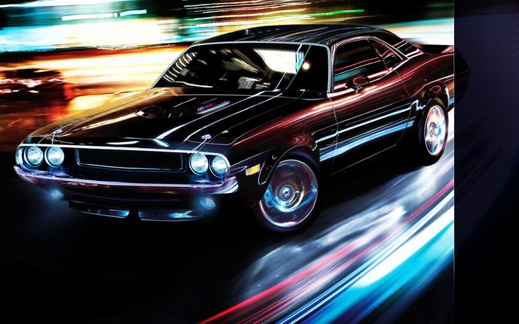 #Dodge #Challenger... the color is AMAZING on this car