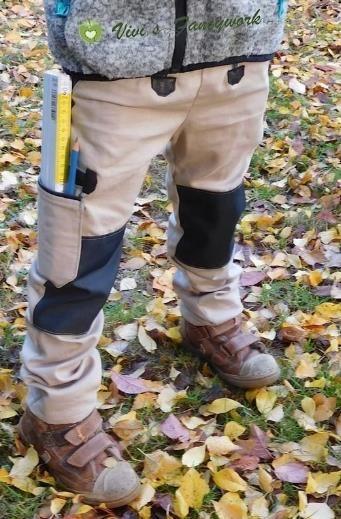 Die Hose für Nachwuchsbauarbeiter – Nähanleitung via Makerist.de – Nina