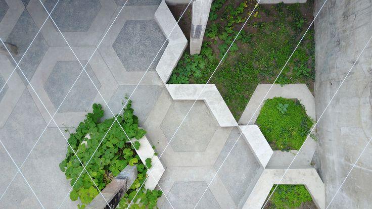 Intervención ofrece un espacio de permanencia y descanso en 240 metros cuadrados abandonados en el Persa Bío Bío