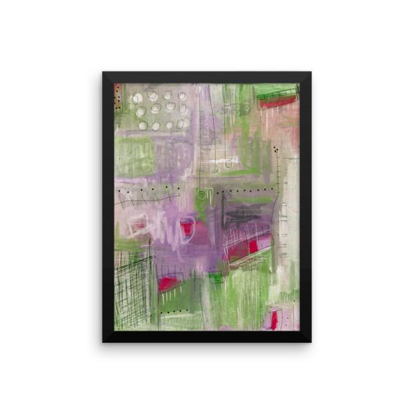 """Make a statement in any room with this framed poster printed on high quality paper, with a partly glossy, partly matte finish. • Alder, semi-hardwood frame • Black color • .75"""" thick • Acrylite front protector • Hanging hardware attached • Made in Los Angeles"""