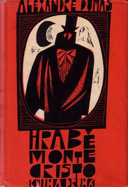 Czechoslovak dust jacket (1963) Cover and binding by Adolf Born. via Flickr