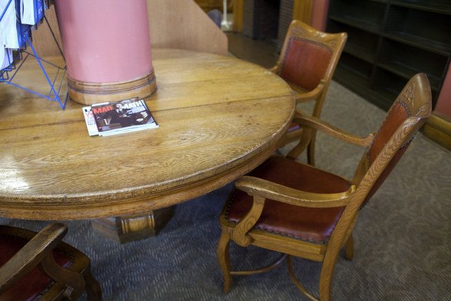 Auction Of Original Hackley Public Library Furniture Provides A Chance To  Own A Bit Of Muskegon History | Antique Stores, Library Furniture And House