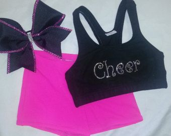 Bows & Bling It's A Cheer Thing Metallic by ThingsToCheerAbout