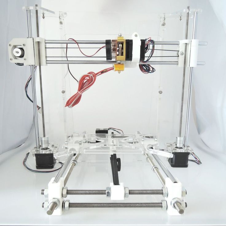 Details about [Sintron] 3D printer full acrylic frame