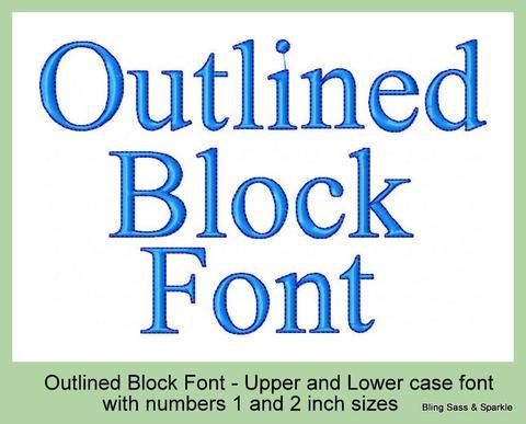 The  Best Block Fonts Ideas On   Writing Fonts