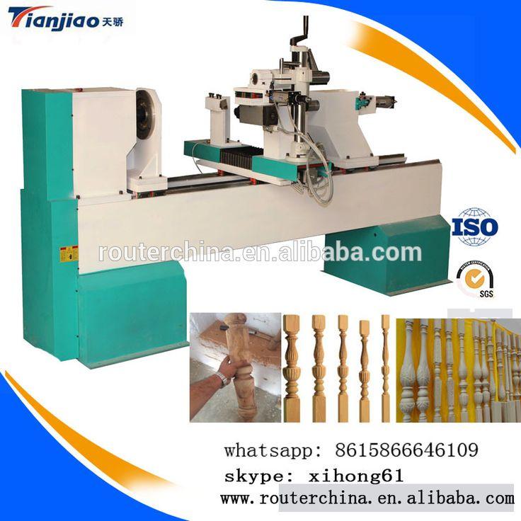 automatic cnc wood turning copy lathe machine for sale