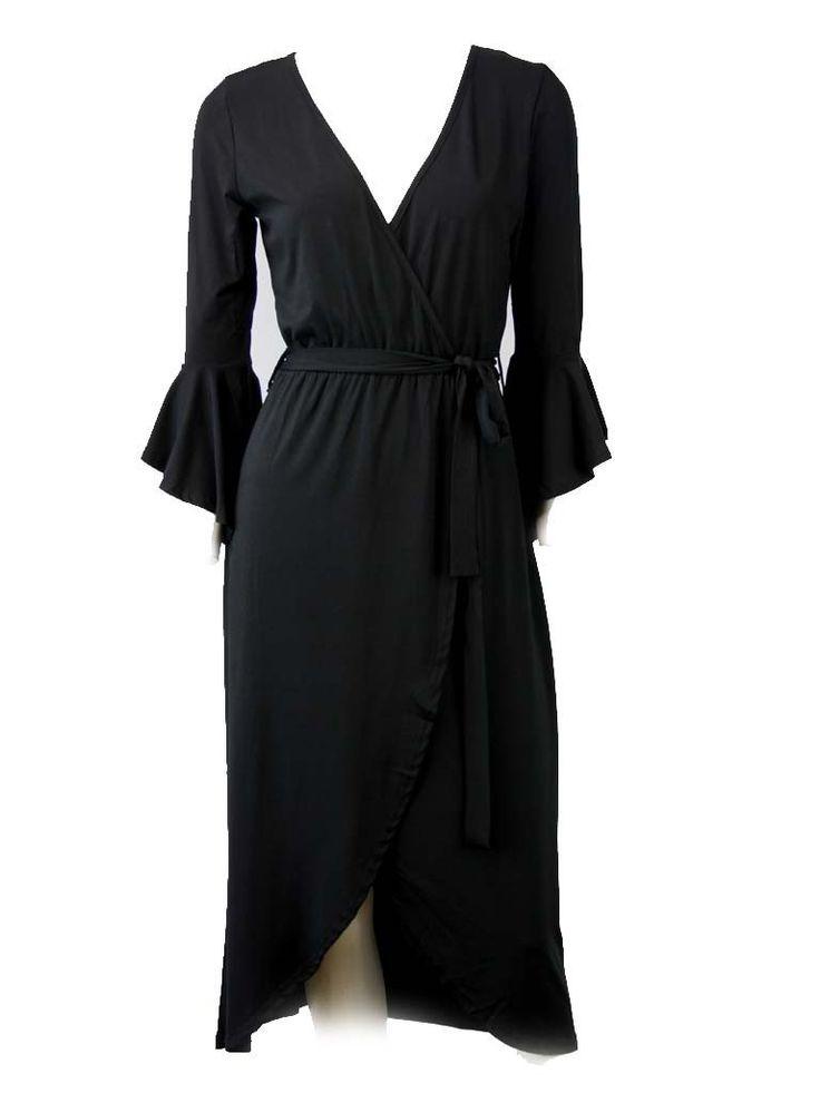 Verity Black Diva Dress