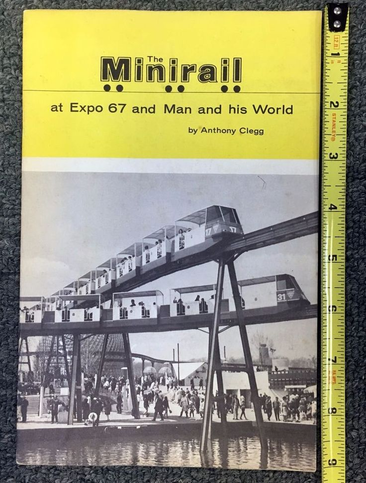 Expo 67 *The Minirail* Booklet