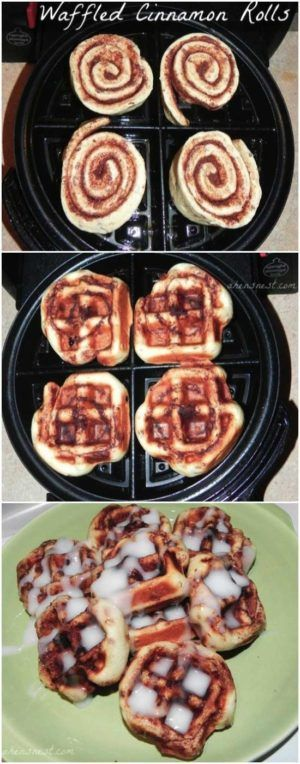 Waffle iron, a small kitchen appliance is not only for preparing your breakfast or brunch waffles. In fact, this kitchen gadget is like a panini press, mini grill, and toaster oven all in one, and it can do a lot more than make waffles. It can produce some pretty good scrambled eggs,brownies, cinnamon rolls, and [...]