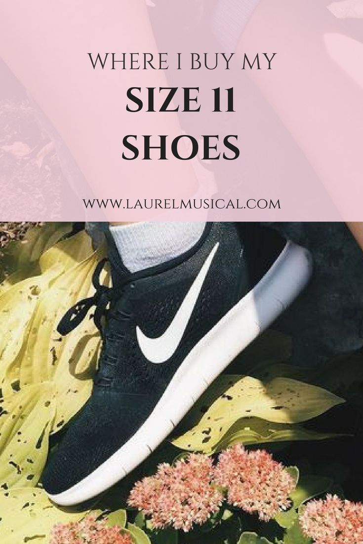 Five affordable places to buy size 11 shoes online and in stores.