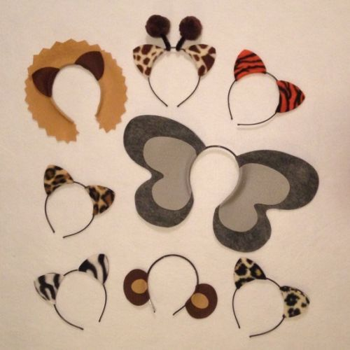 Jungle-safari-zoo-animal-theme-ears-headbands-birthday-party-favors-supplies-hat