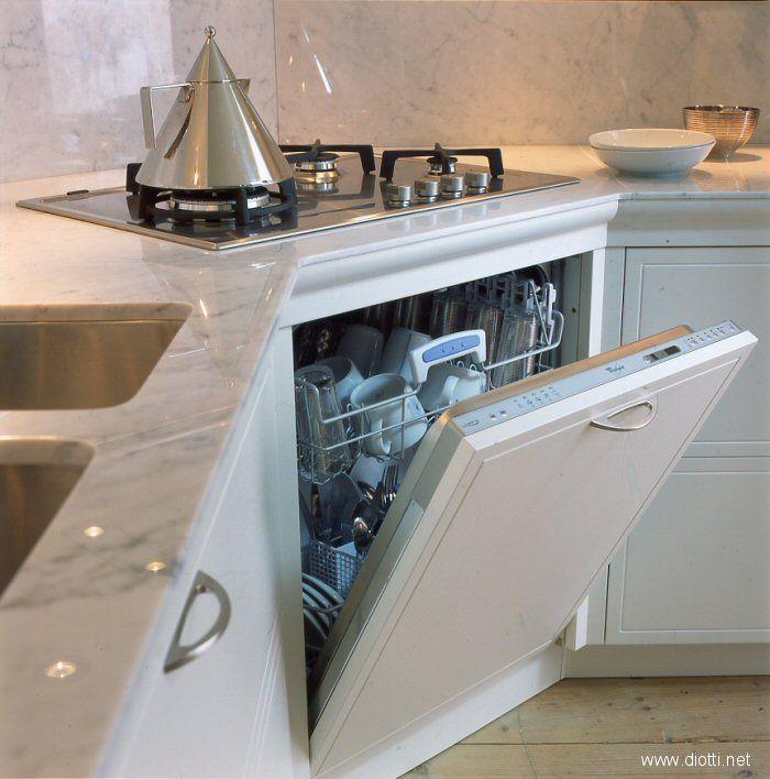 Soluzione con fuochi ad angolo casa pinterest - Cucine con fuochi ad angolo ...