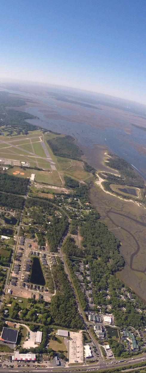 Returning to KFHB on such a beautiful day!  Give us a call today: 904-430-3800 ----------------------------- #florida #tourism #flying #flights #thrills #fun