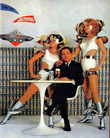 space...who doesn't love the future as seen from the 60s?