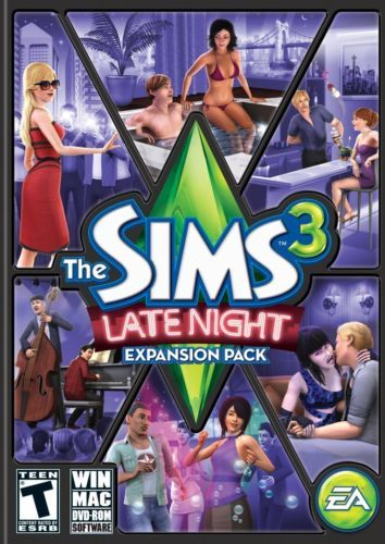 Brand-New-Video-Game-The-Sims-3-Late-Night-PC-Mac-Expansion-Pack-Free-Shipping