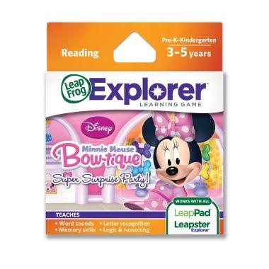 Minnies Bowtique Explorer Game